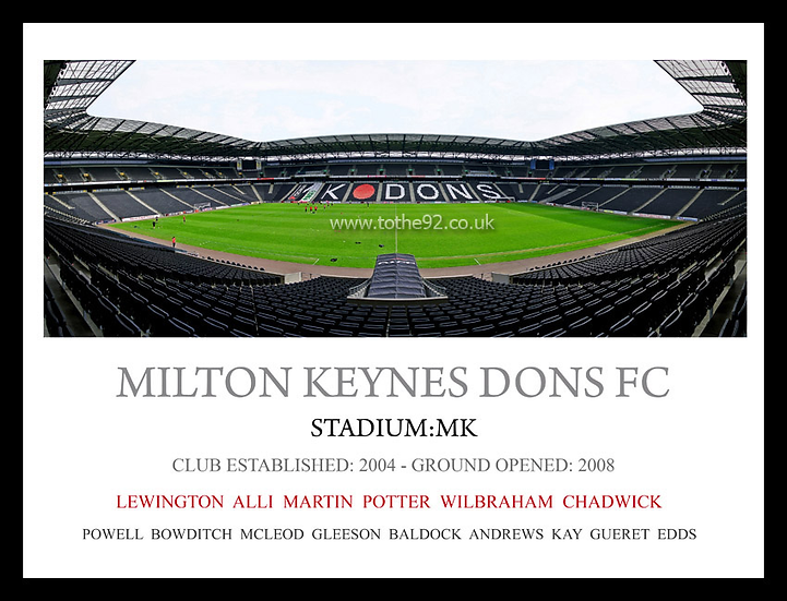 Milton Keynes Dons FC - Legends