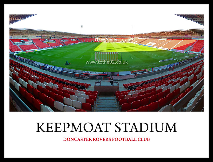 Doncaster Rovers - Keepmoat Stadium