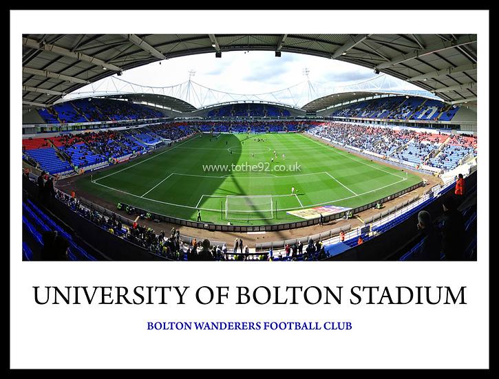 Bolton Wanderers - Uni of Bolton Stadium