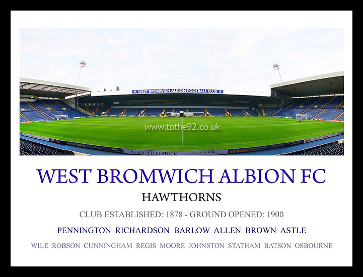 West Bromwich Albion FC - Legends