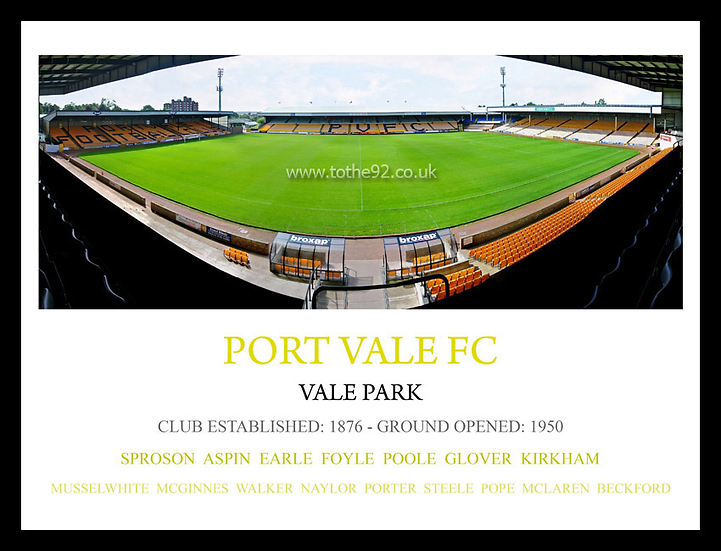 Port Vale FC - Legends