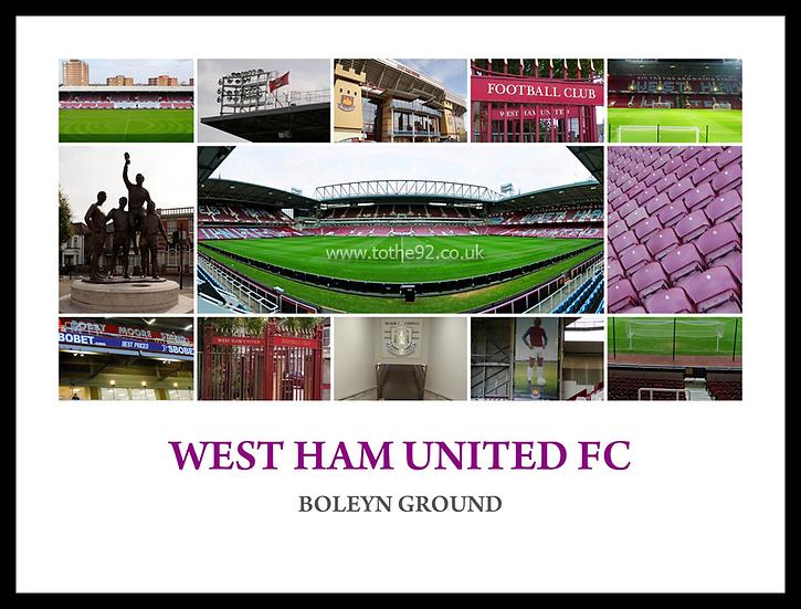 West Ham United FC, Boleyn Ground - Montage