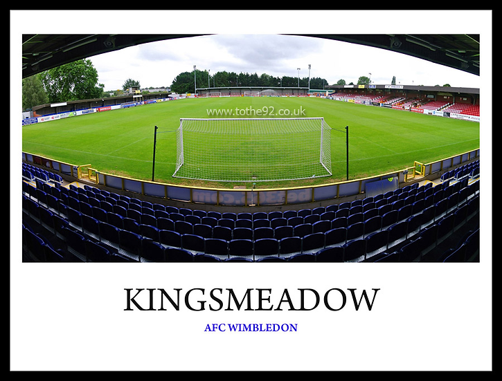 AFC Wimbledon - Kingsmeadow