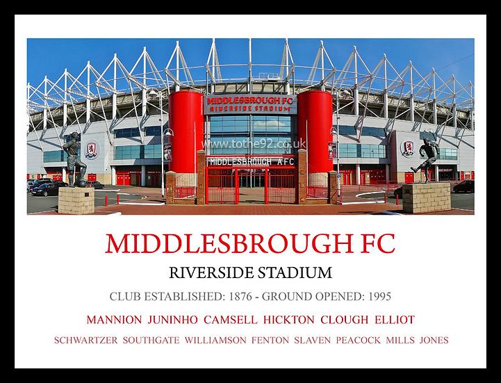 Middlesbrough FC - Legends
