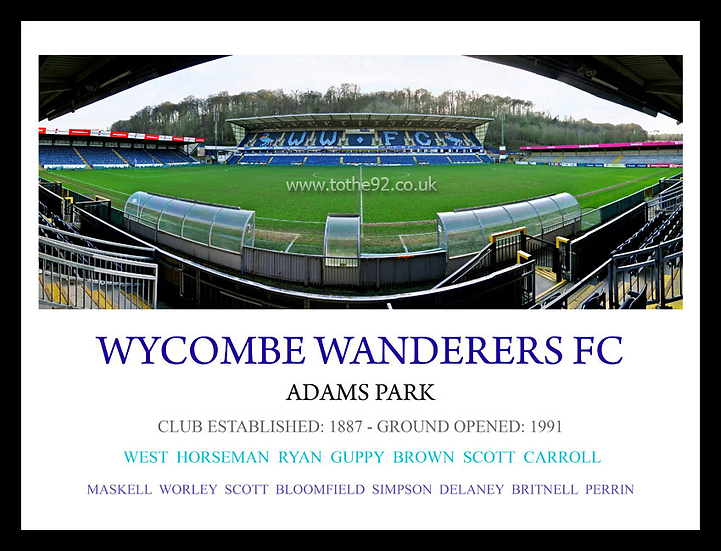 Wycombe Wanderers FC - Legends