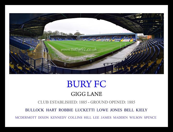 Bury FC - Legends