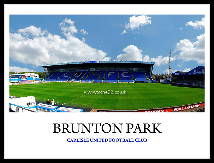 Carlisle United - Brunton Park