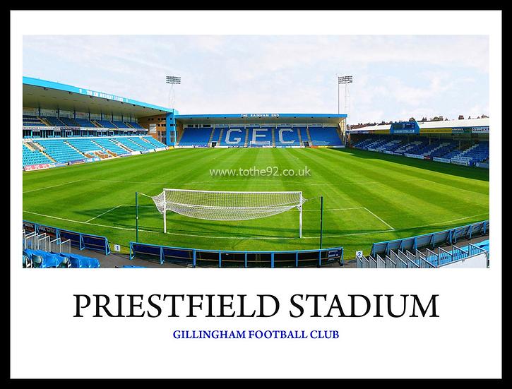 Gillingham - Priestfield Stadium