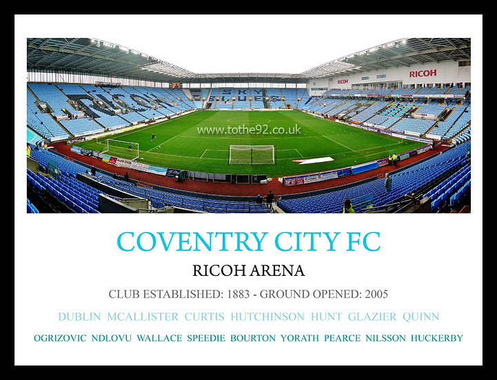 Coventry City FC - Legends