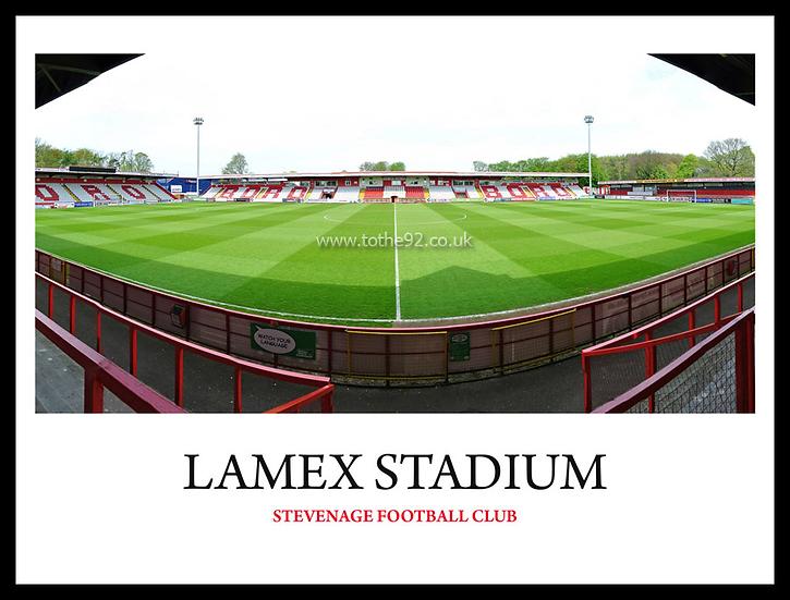 Stevenage - Lamex Stadium