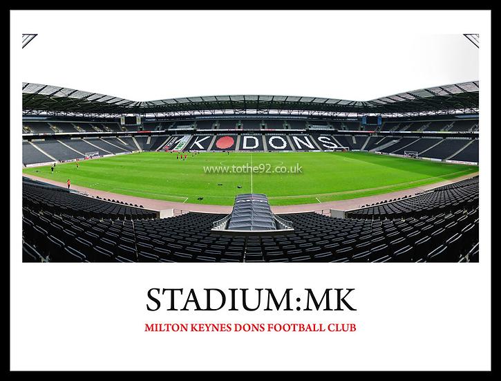 Milton Keynes Dons - Stadium:MK