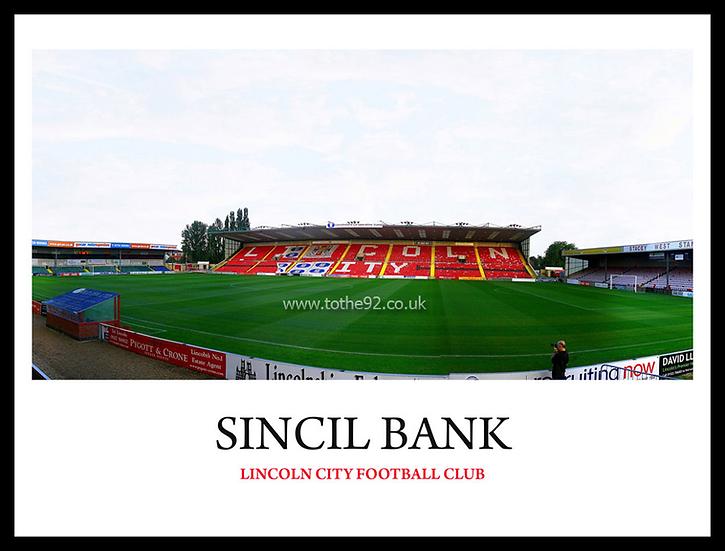 Lincoln City - Sincil Bank