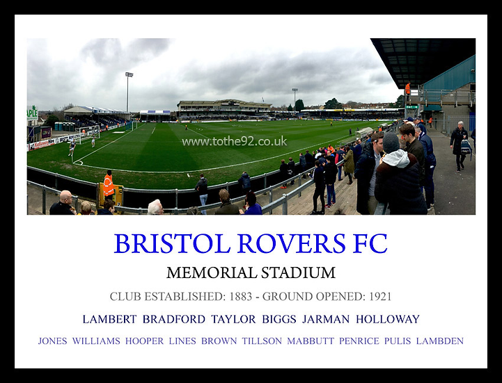 Bristol Rovers FC - Legends