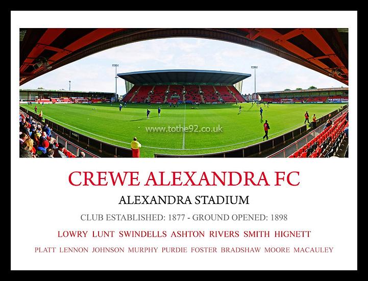 Crewe Alexandra FC - Legends