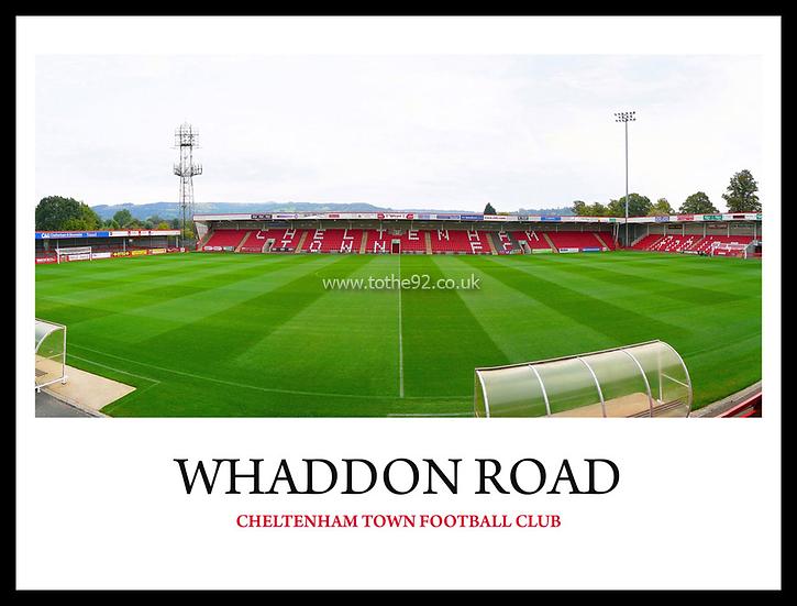 Cheltenham Town - Whaddon Road