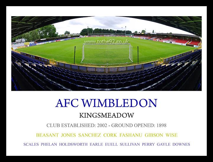 AFC Wimbledon - Legends