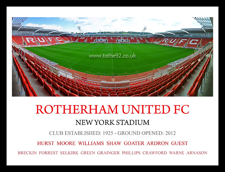 Rotherham United FC - Legends