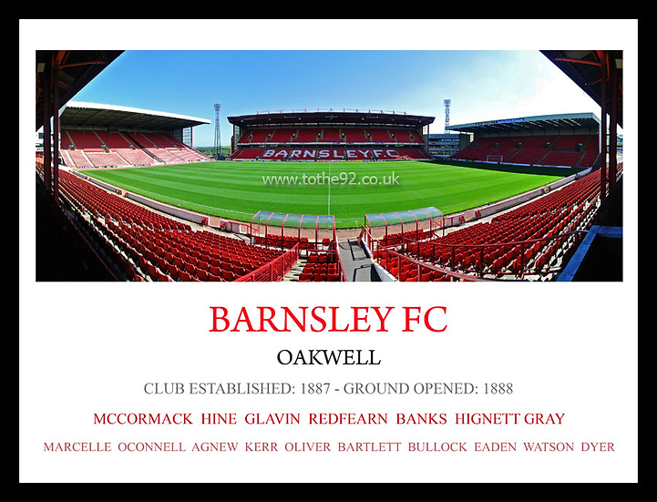 Barnsley FC - Legends