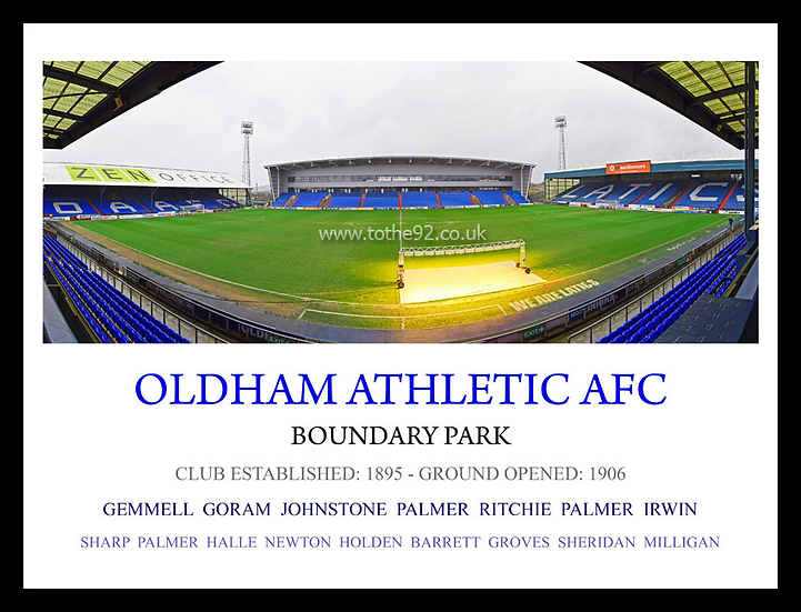Oldham Athletic AFC - Legends