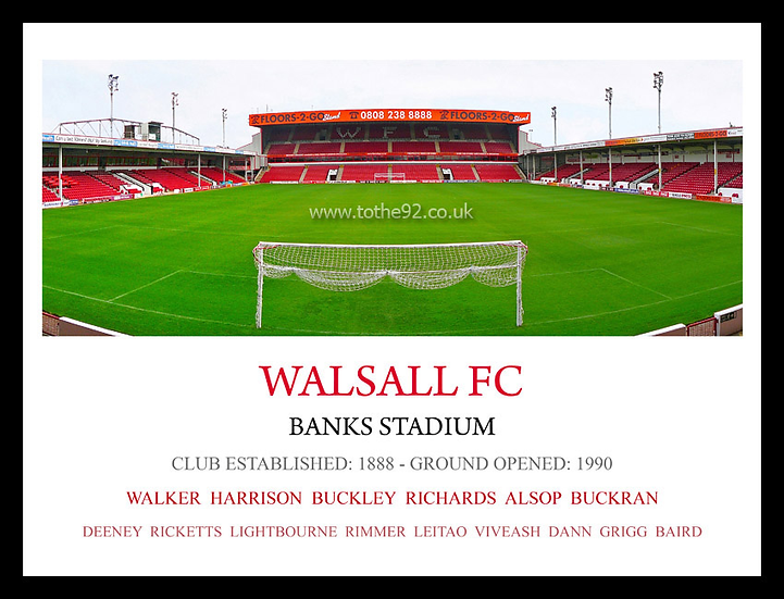 Walsall FC - Legends