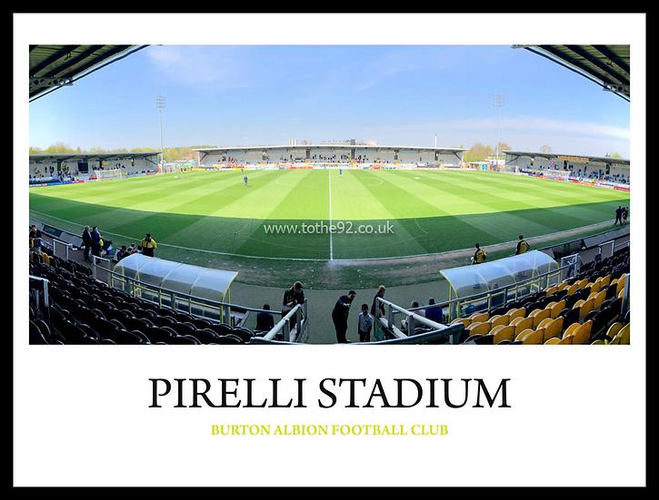 Burton Albion - Pirelli Stadium