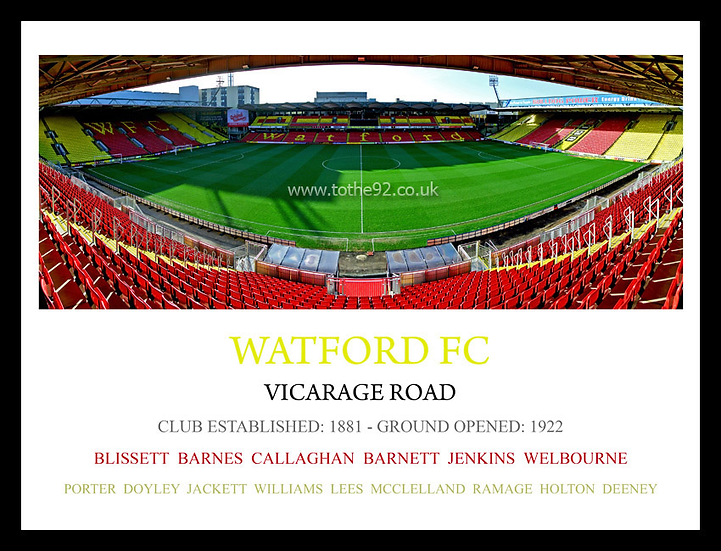 Watford FC - Legends