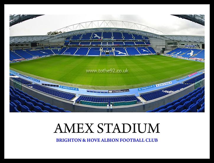 Brighton & Hove Albion FC - Amex Stadium