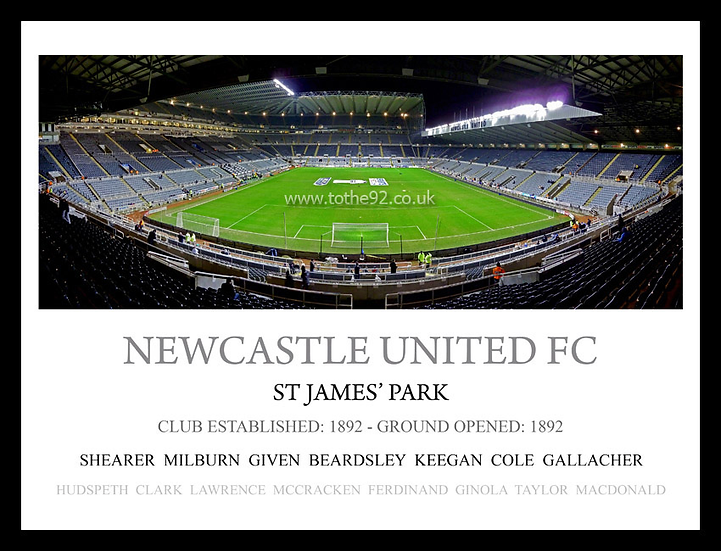 Newcastle United FC - Legends
