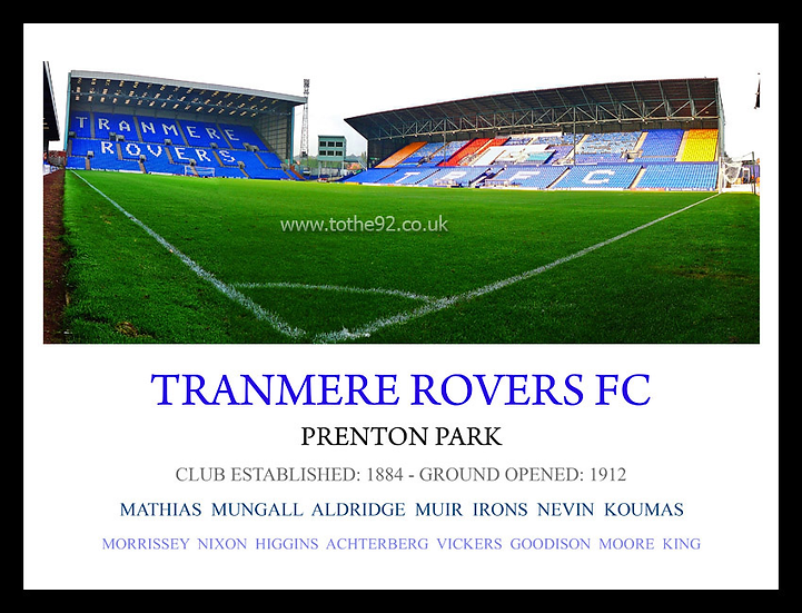 Tranmere Rovers FC - Legends