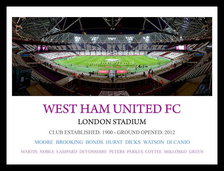 West Ham United FC - Legends