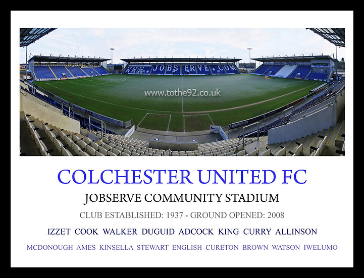 Colchester United FC - Legends