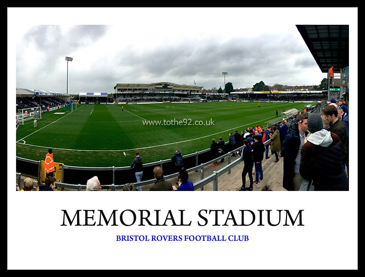 Bristol Rovers - Memorial Stadium
