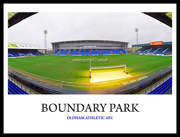 Oldham Athletic - Boundary Park 2