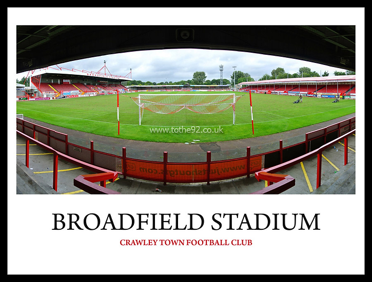 Crawley Town - Broadfield Stadium