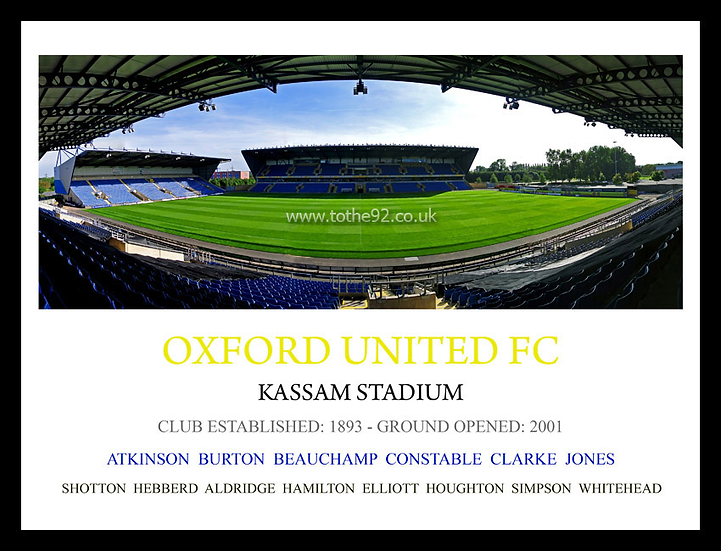 Oxford United FC - Legends