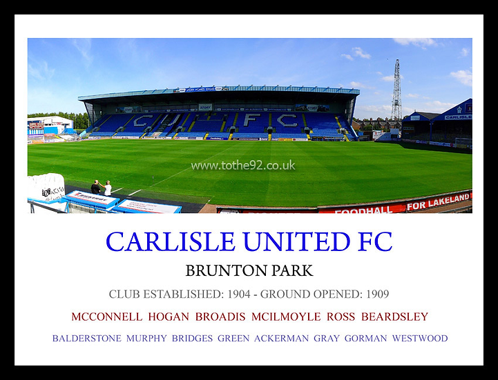 Carlisle United FC - Legends
