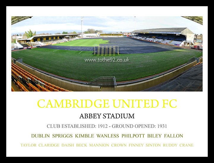 Cambridge United FC - Legends