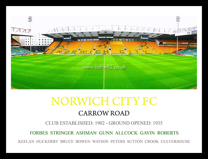 Norwich City FC - Legends