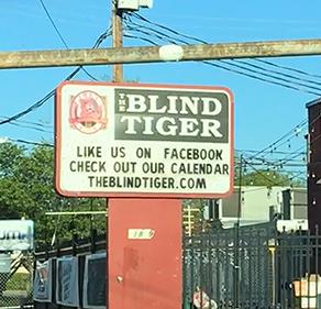 Threesound The Blind Tiger THLOG