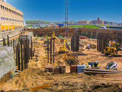 Earth Retention Wall & Pipe Piles