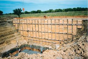 Tieback Wall