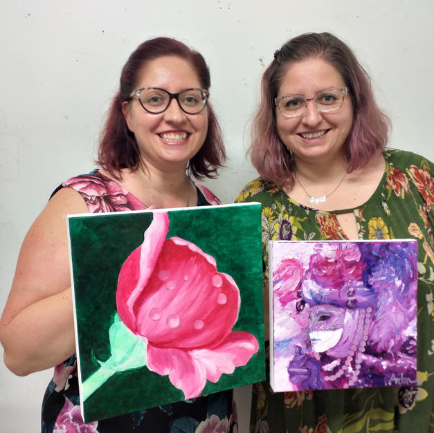 Happy Double - Oil Painting Class