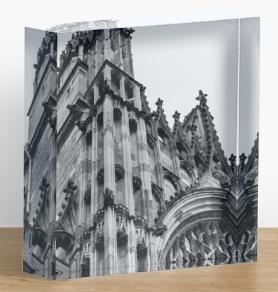 York Minster Acrylic Block