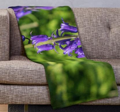 Bluebells Blanket