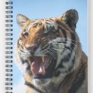 Snarling Tiger Notebook