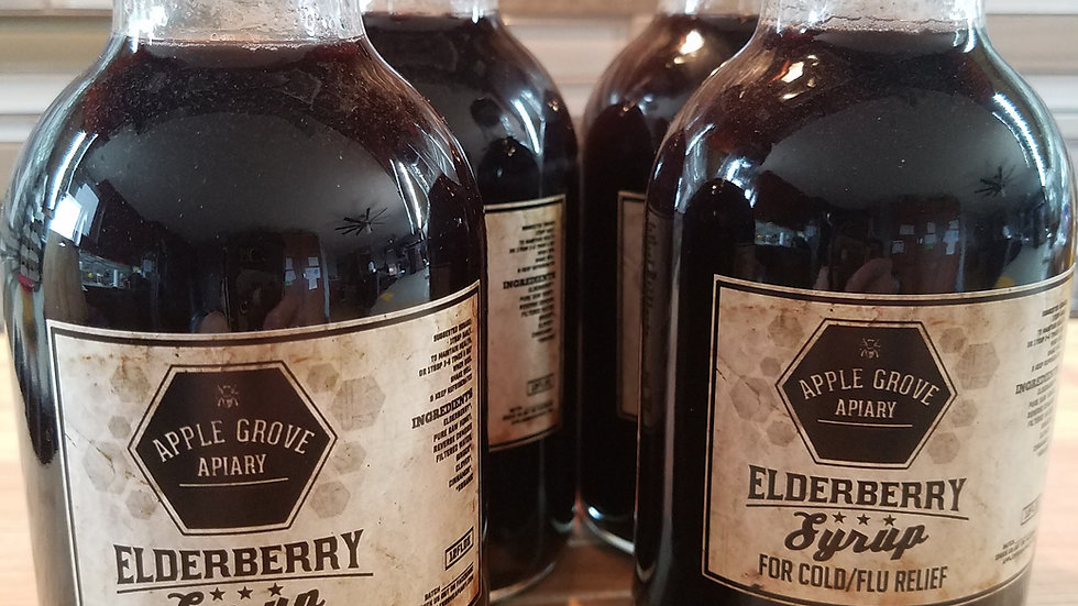 Elderberry Syrup - Four Pack