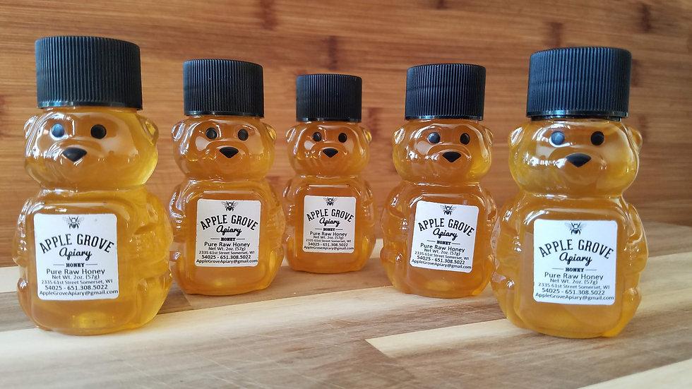 Baby Honey Bear 2oz, Five Pack