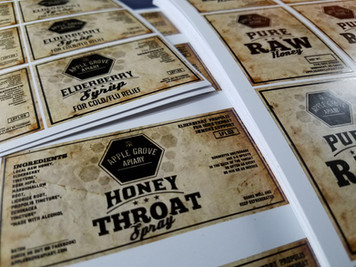 Redesigned labels