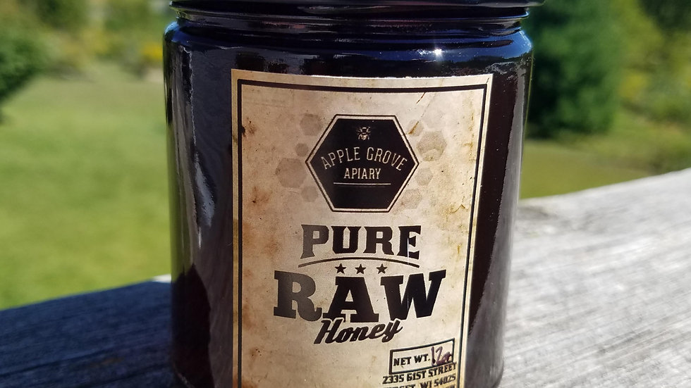 Honey - 12oz Buckwheat
