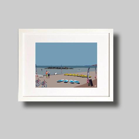 Jurassic Paddle Sports   Sidmouth Beach